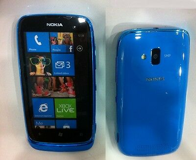 **High Quality* Dummy NOKIA LUMIA 610 Blue  Display phone TOY (not real)