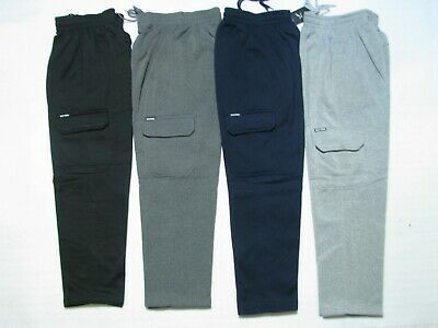Men's Cargo Fleece Workwear, Work Pants, Tracksuit Pant, Track Pant, Trackpant,