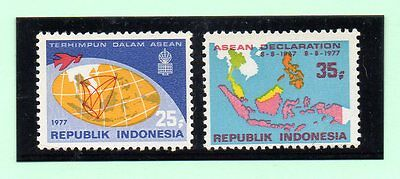 Indonesia valores del año 1977 (AX-653)