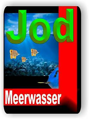 Jod 500 ml Spurenelement für alle Meerwasser Aquarien