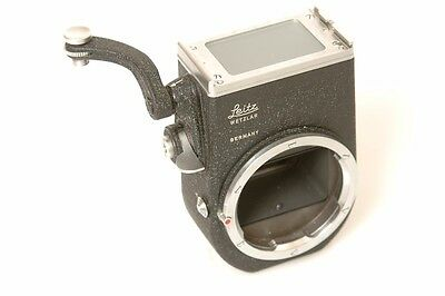 Leica M Visoflex Ii Body/housing. Free Ww Shipp.minty