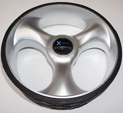 GOLF TROLLEY SPORTS WHEELS for MOST TROLLEYS  (PAIR)