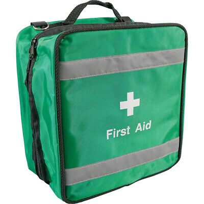 Empty Compact Fast Response  First Aid Kit Bag - Sports, Paramedic, Workplace