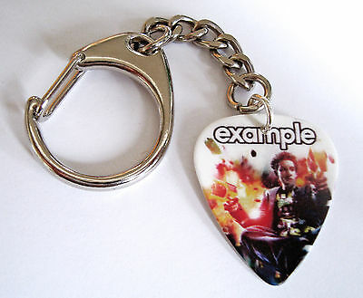 EXAMPLE Plectrum/Pick Key chain Key Ring
