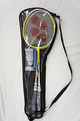 YONEX 2 Players Badminton Set, including 2 Racquets Rackets, Shuttlecocks