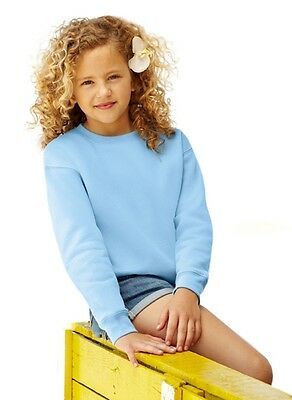 FRUIT OF THE LOOM - Kids Set-In Sweatshirt - NEU