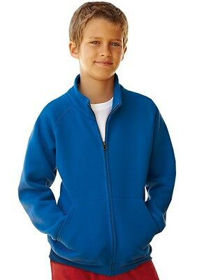 FRUIT OF THE LOOM - Kids Sweatjacke - NEU