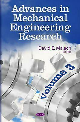 Advances in Mechanical Engineering Research: Volume 3 (English) Hardcover Book F