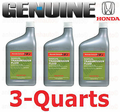 3-Quarts ORIGINAL ACURA HONDA  GENUINE MANUAL TRANSMISSION FLUID