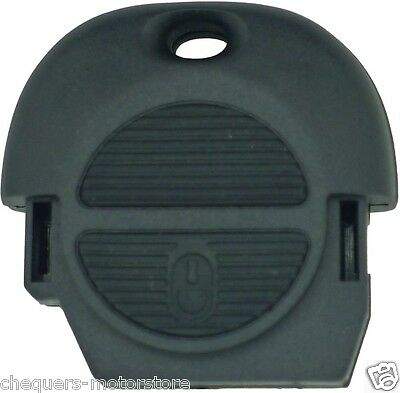 Nissan 2 Button NATS Remote Key Fob Shell Case Almera Micra Primera X-trail