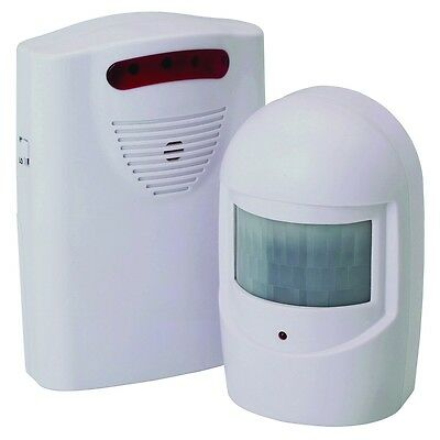 WIRELESS Motion Activated Doctors Office ENTRY ALARM Door Chime Sensor