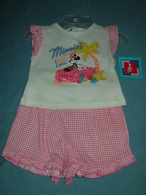 NWT Baby Girls 2 Piece Outfits~~Size 3 Months & 12 Months--Very Cute