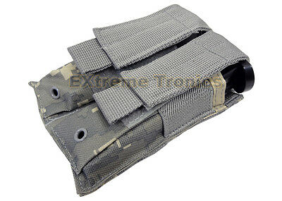 NcSTAR Digital ACU Double MOLLE PALS Dual Pistol 1911 Magazine Pouch Holster M9