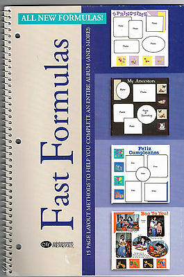 Creative Memories Fast Formulas Vol 2 Ideas Book 2000 Bn & Nla