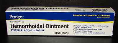 Perrigo Hemorrhoidal Ointment (Compare to Preparation H Ointment) 2oz Tube