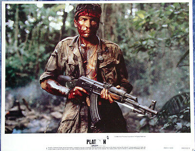 Platoon 1986 Original US Lobby Card Set Complete 11x14 Near Mint Orion Pictures