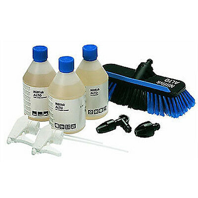 Nilfisk Click & Clean Auto Kit & Fluid Pressure Washer Car Patio Cleaning