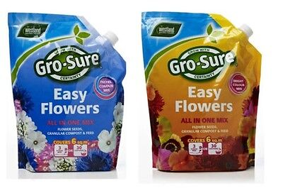 Westland Flower Compost All in one Mix Bright Colour or Pastel Colour Mix