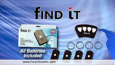 FIND IT ELECTRONIC KEY FINDER, ***THE ORIGINAL*** SCREAMING DEAL OVER FACTORY