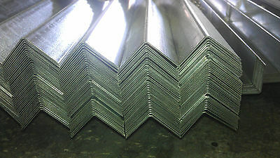 Galvanised Steel Angle Sections 37mm x 37mm and 25mm x 25mm and 50mm x 50mm