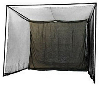 NEW 10 x 10 Enclosed Indoor Golf Simulator Hitting Net for Game Room.Practice