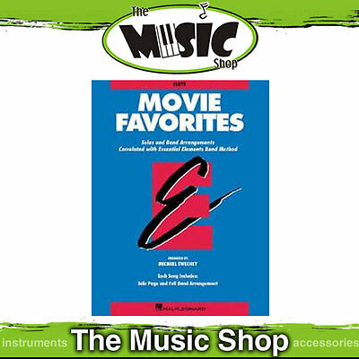 Essential Elements Movie Favourites for Flute - Popular Movie Song Book