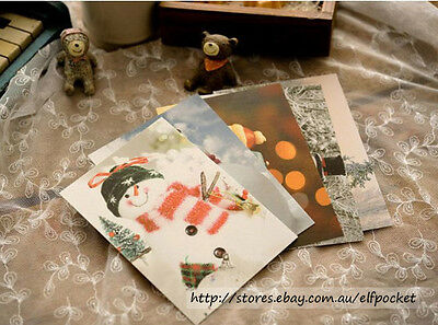 6 Pc You are My snow man  Postcard Picture Poster Greeting Gift Card Photo Love