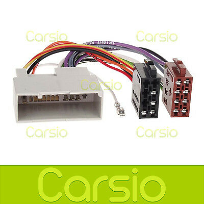 FORD FIESTA 02-05 ISO Wiring Harness Connector Stereo Radio Adaptor ...
