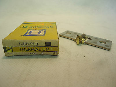 New In Box Square D 1-Dd280 Overload Relay Thermal Unit