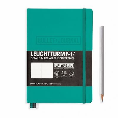 LEUCHTTURM1917 A5 Bullet Journal Book Dotted - Black