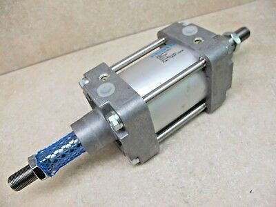 Festo,  Air Cylinder,  80 Mm Bore X 35 Mm Stroke, Double Rod,  Dng-80-35Ppv-A-S2