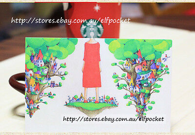 8pcs Comic Style Illustration Traveller King Postcard Picture Greeting Gift Card