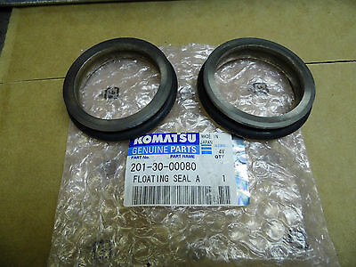 new GENUINE KOMATSU FLOATING SEAL A KIT 201-30-00080