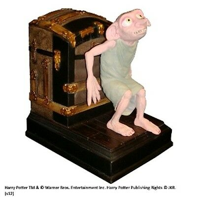 Harry Potter Dobby the House Elf Bookend. Dobbie Bookend Handpainted Noble Gift