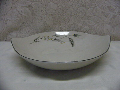 Taylor Smith Taylor China*silver Wheat*vegetable Bowl