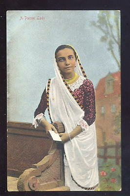 India Parsee Lady early PPC
