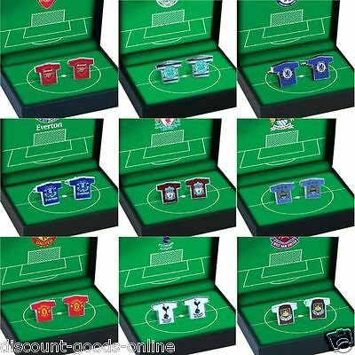 Official Licensed Football Cuff Links, Great Xmas Or Birthday Present Cufflinks