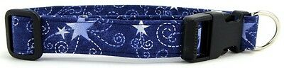 Swirled Stars Quick Release Buckle Pet Dog and Cat Collars