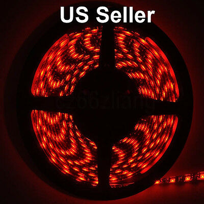 RED LED light strip by 10 cm pieces for 99 cents only, buy only what you need