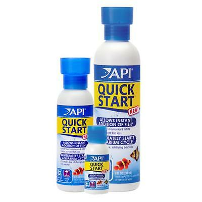 API Quick Start Aquarium Fish Tank Water Treatment Bacteria 30ml 118ml
