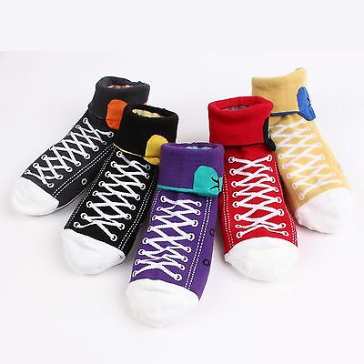 Choice Color ! [My 2nd Shoes Socks] Sneakers & Monsters 2Way Design Socks  BE