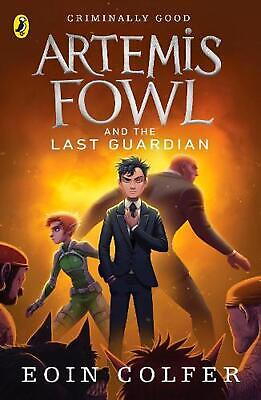 Artemis Fowl and the Last Guardian by Eoin Colfer Paperback Book Free Shipping!