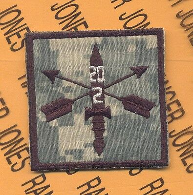 2nd Bn 20th Special Forces Group AIRBORNE SFGA ACU HCI Helmet Cover patch