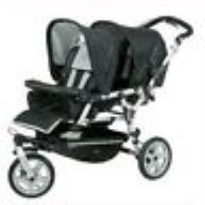 New Universal Raincover to fit Jane Power Twin Double Pushchair Raincover
