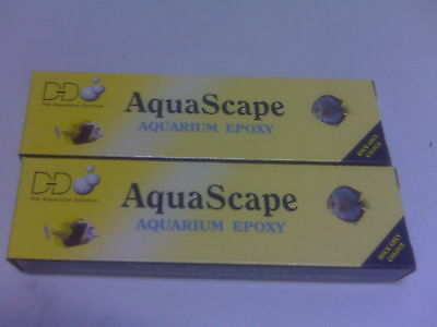 2-D&D AquaScape Underwater Construction Putty for Salt & Reef Tanks Brand New!!!