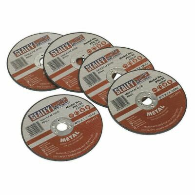 Sealey PTC/3C5 Cutting Disc ?75 x 2mm 10mm Bore Pack of 5