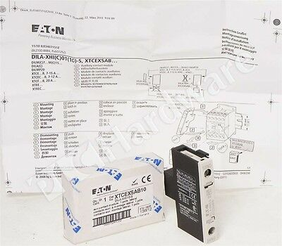 New Eaton XTCEXSAB10 Auxiliary Contact 1-Pole 1 N.O. Qty