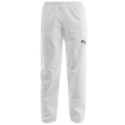 Bowls Bowling White Waterproof  Unisex Trousers Sizes