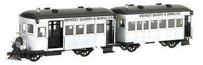 "BACHMANN SPECTRUM 28461 - 0n30 - RAILBUS ""MIDWEST QUARRY & MINING"" DIGITALE"