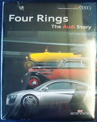 FOUR RINGS The AUDI Story EDITION AUDI TRADITION Marque History Car Book 2009